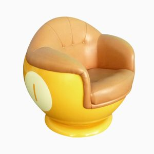 Chaise Boule de Billard en Plastique, 1970s