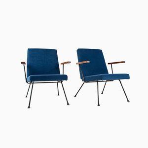 1409 Easy Chairs von A.R.Cordemeyer für Gispen, 2er Set