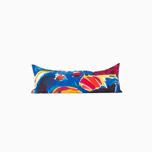 Oreiller Multicolore Peint à la Main par Naomi Clark pour Fort Makers