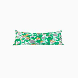 Green Scale Snake Pillow by Naomi Clark for Fort Makers