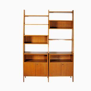 Mid-Century Scandinavian Freestanding Bookshelf