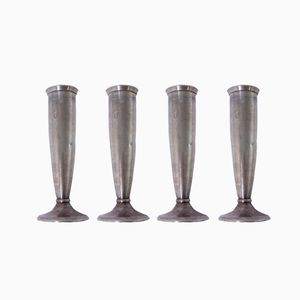 Italian Candlesticks by Gio Ponti for Krupp, 1930s, Set of 4