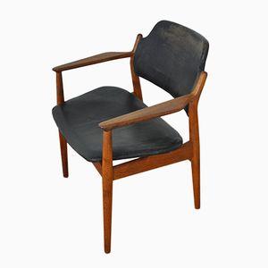 Dänischer Armlehnstuhl von Arne Vodder für Sibast, 1950er