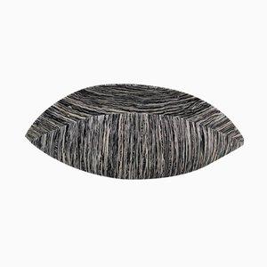 Schwarze & Beige Schale aus Baumwolle von Krupka-Stieghan