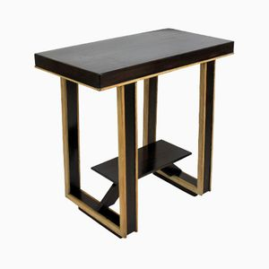 Vintage Two-Tone Italian Side Table