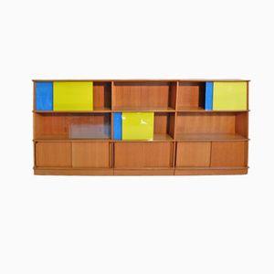 French Oscar Shelf Unit by Marcel Gascoin, 1950s