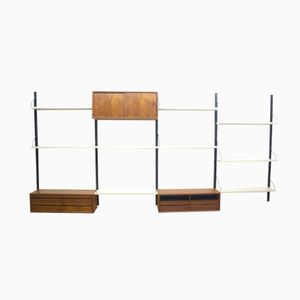 Danish Modular Wall-Mounted Unit by Poul Cadovius for Royal System
