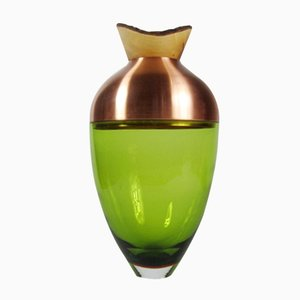 SV11 Green and Copper Stacking Vessel by Utopia & Utility