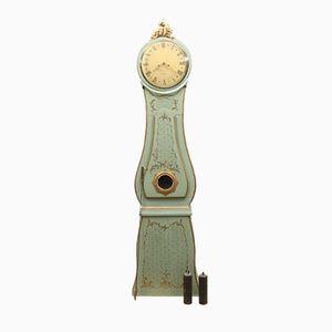 Schwedische Antike Mora Uhr mit Blumendetails
