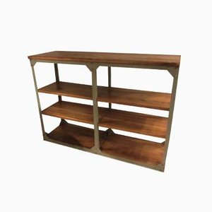 Vintage German Industrial Shelf from Hakenberg