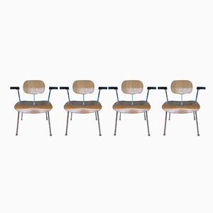 Mid-Century SE 68 Armchairs by Egon Eiermann for Wilde & Spieth, Set of 4