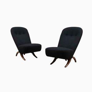 Niederländische Congo Lounge Stühle von Theo Ruth für Artifort, 1952