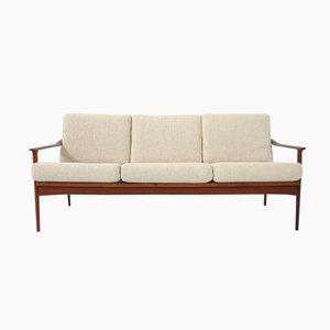 Mid-Century Danish Teak Sofa by Ib Kofod-Larsen for Selig