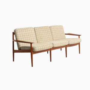 Danish Three-Seater Sofa by Arne Vodder for Glostrup Møbelfabrik, 1960s