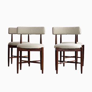 Scandinavian Dining Chairs from G Plan, Set of 4, 1960s