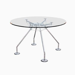Nomos Table by Sir Norman Foster for Tecno, 1987
