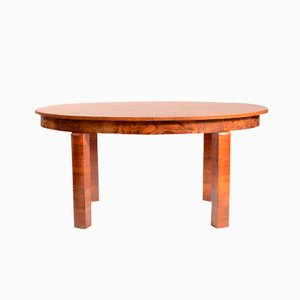Czech Art Deco Dining Table