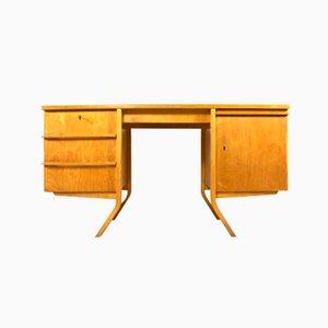 Niederländischer EB04 Schreibtisch aus Birke von Cees Braakman für Pastoe, 1950er