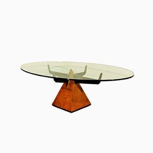 Pyramidenförmiger Italienischer Couchtisch, 1950er