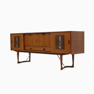 Vintage Teak Sideboard by Louis van Teeffelen for WéBé