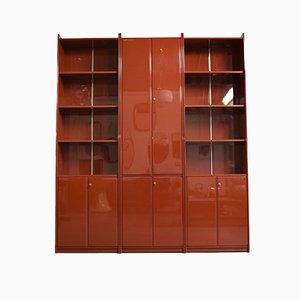 Italian Olinto Bookcase by Kazuhide Takahama for B & B Como Novedrate, 1965