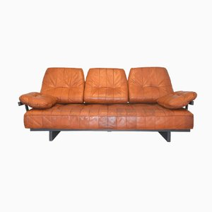 Vintage DS 80 Leather Daybed from De Sede