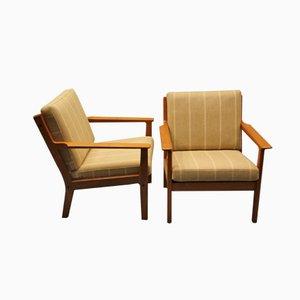 Dänischer GE 265 Easy Chair von Hans J. Wegner für Getama, 1960er