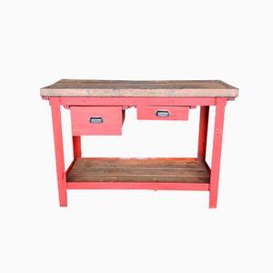 Vintage Werkstatt Tisch