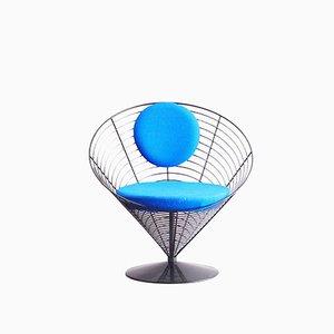 V-Chair 8800 Wire Cone Chair von Verner Panton für Fritz Hansen, 1980er