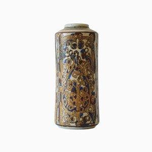 Hohe Dänische Vase 22558 von Ivan Weiss für Royal Copenhagen, 1970er