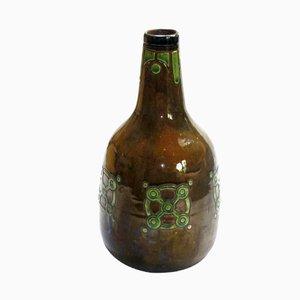 Große Art Nouveau Vase aus der Wiener Kunstgewerbeschule