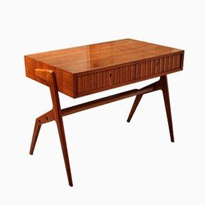Kleiner Kirschholz Schreibtisch, 1950er