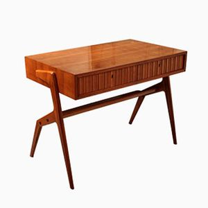 Small Cherrywood Desk, 1950s