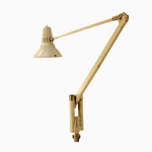 Schwedische Klemmbare Vintage Tischlampe mit Gelenk von Asea