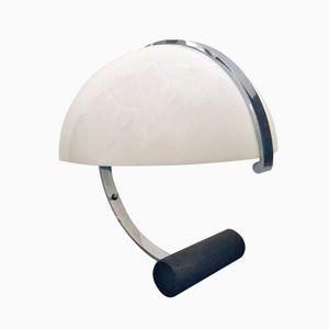 Italienische Tischlampe aus Acryl & Chrom von Stilnovo, 1970er
