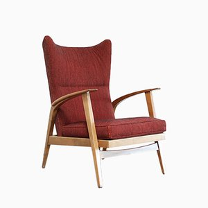 Reclining Wingback Chair from Knoll, 1965