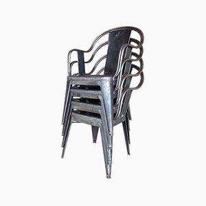 C Stühle von Xavier Pauchard für Tolix, 1934, 4er Set