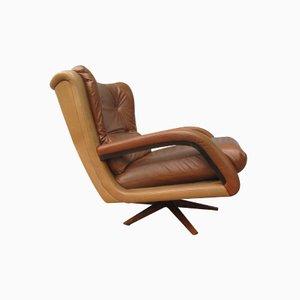 Zweifarbiger Vintage Lounge Sessel, 1960er