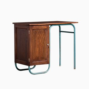 French Industrial Desk by Jacques Hitier for Mobilor, 1950s