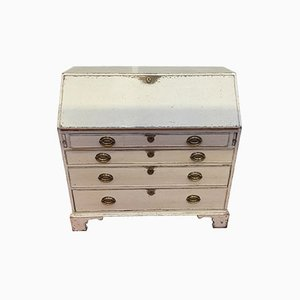 Bureau Antique Gris, Danemark, 1860s