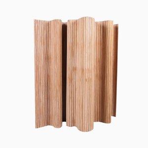 Divisorio 100 in pino marrone di Alvar Aalto per Artek
