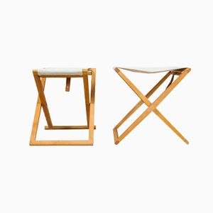 Folding Stool by Mogens Koch for Rud Rasmussen