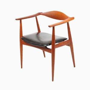 Vintage CH 35 Armchair by Hans J Wegner for Carl Hansen & Søn