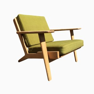 Danish GE 290 Lounge Chair by Hans J. Wegner for Getama, 1960s