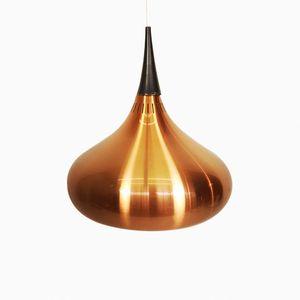 Orient Hängeleuchte aus Eloxiertem Aluminium von Jo Hammerborg für Fog & Mørup