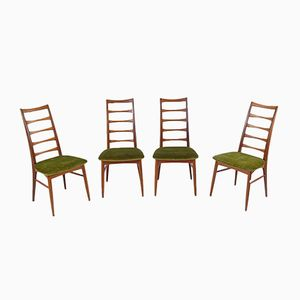 Vintage Liz Chairs by Niels Koefoed for Hornslet Møbelfabrik, Set of 4