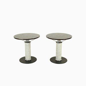 Tables Consoles en Marbre, Italie, 1980s, Set de 2