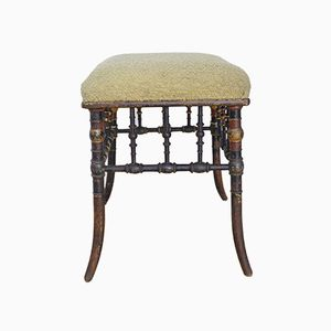 German Antique Stool, 1890s