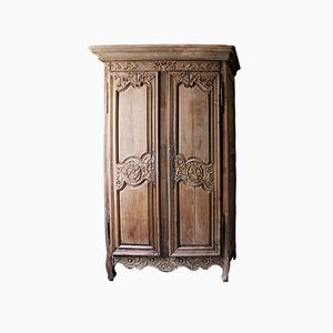 French Antique Louis XVI Marriage Armoire