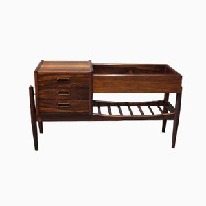 Small Danish Rosewood Sideboard by Arne Vodder, 1960s